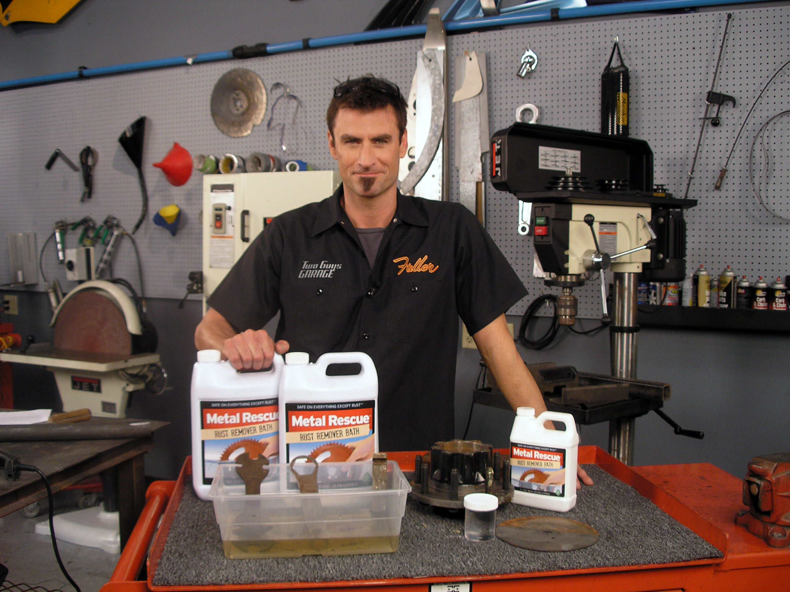 """Garage Stuff For Guys : Watch metal rescue on two guys garage episode """"cool tools"""